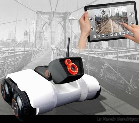 Logicom SPY-C Tank, le petit robot espion pilotable à distance Robotique caméra Espionnage Spy C Tank   Robolution Capital   Scoop.it