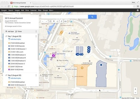 Google Brings Its Map-Making Tools To Google Drive | Digital TSL | Scoop.it