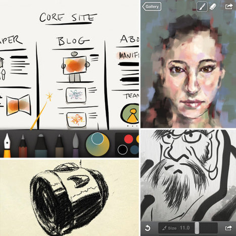 10 Essential Apps For the Mobile Artist | What's new in Visual Communication? | Scoop.it