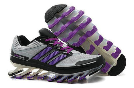 Womens Adidas Springblade UK Running Shoes Grey Purple [Springblade 008] - £89.99 : Dr Martens UK, Cheap Dr Martens Boots UK Online Store | Adidas Springblade UK | Scoop.it