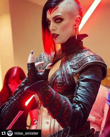 Porn expressions with images — sharemycosplay: #Cosplayer @miss_sinister is... | Classic and alternative art | Scoop.it
