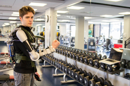 Robotic arm exoskeleton wins £30,000 Dyson prize[video] | 21st Century Innovative Technologies and Developments as also discoveries, curiosity ( insolite)... | Scoop.it