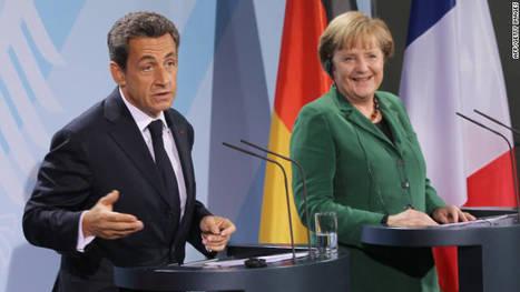Merkel, Sarkozy hold talks amid euro crisis - CNN.com   Eurozone   Scoop.it
