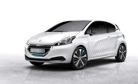 Air-powered Peugeot 208 Hybrid 2L Demonstrator wants to save you fuel | QwikWash America! Car Care Tips | Scoop.it