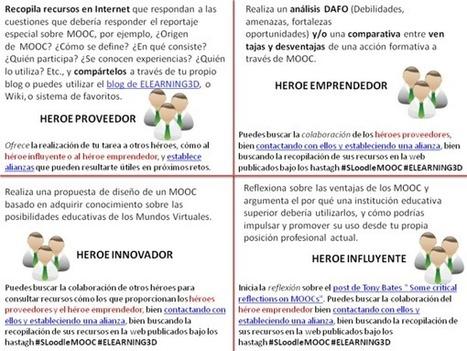 ELEARNING3D, La aventura de aprendizaje #SLoodleMOOC | Mundos Virtuales, Educacion Conectada y Aprendizaje de Lenguas | Scoop.it