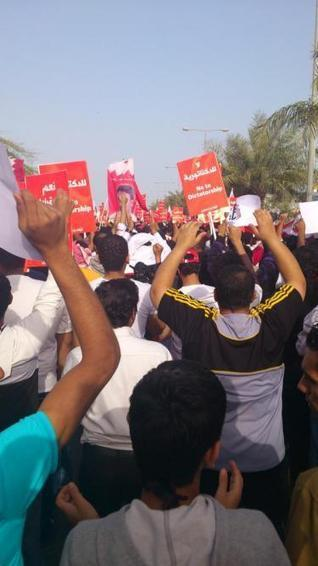 Security forces clash with protesters trying to reach symbolic Pearl Square | The Observers | Human Rights and the Will to be free | Scoop.it