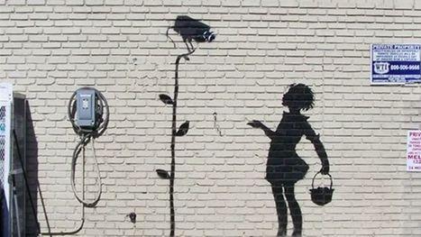 Un autre graffiti de Banksy mis aux enchères   Street Art   Scoop.it