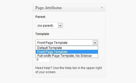 How to Create a Separate Page for Blog Posts in WordPress | Webdesign | Scoop.it