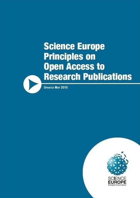 Principios sobre el acceso abierto a las publicaciones de investigación de la ciencia europea | Educación a Distancia y TIC | Scoop.it