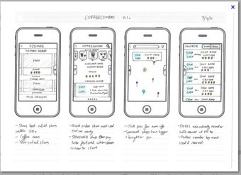 Good design/bad design – phone app wireframe - phmtierney – web ...   Mobile App Development resources   Scoop.it