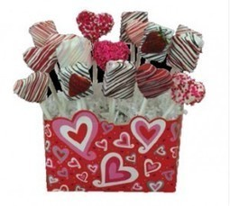 Chocolate Dipped Cake and Brownies Pops | Valentine Special | Ingallina's Box Lunch Seattle | Holiday Special | Scoop.it