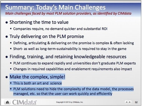 PLM and The Art Of Simplicity | 4D Pipeline - Visualizing reality, trends and breaking news in 3D, CAD, and mobile. | Scoop.it