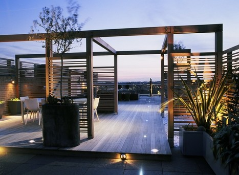 Roof Garden Design: #1- Exposure and screening | Gardening is more than Digging the Dirt | Scoop.it