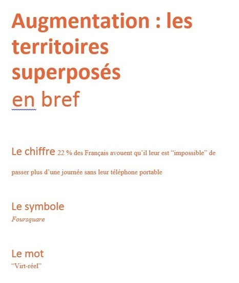 Influencia - Nouveaux territoires - Les territoires superposés : du smartphone à la smartcity | Tendances : société | Scoop.it