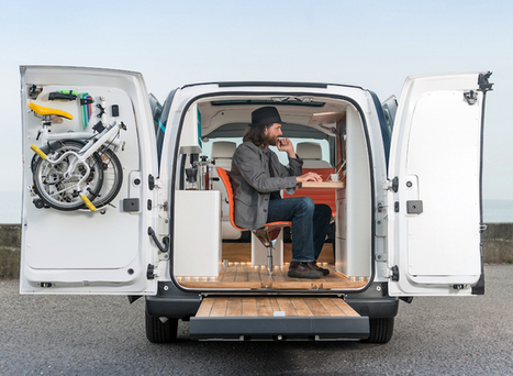 Nissan Launches the World's First Electric Mobile Office | Le It e Amo ✪ | Scoop.it