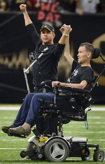 Steve Gleason to be featured on NFL Network-11.26.2013 | #ALS AWARENESS #LouGehrigsDisease #PARKINSONS | Scoop.it