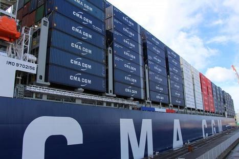 CMA CGM : Une « évolution stratégique » pour ses marins français | La Touline - | Scoop.it