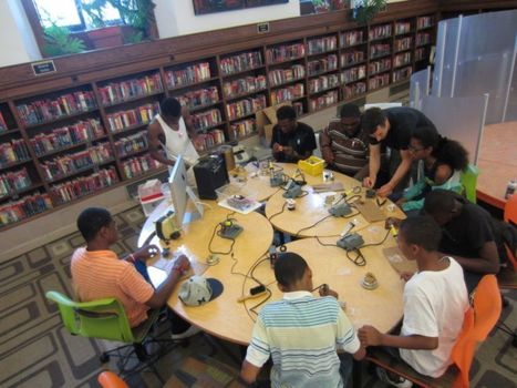 Libraries and Makerspaces: a match made in heaven | Young Adult & Reference Librarians | Scoop.it