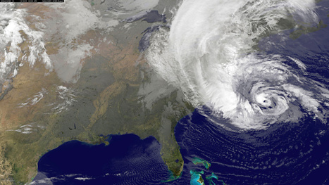 Huge Hurricane Sandy Bears Down on East Coast | Scientificus | Scoop.it