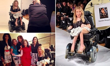 New York Fashion Week puts first wheelchair-bound model on the runway | todaysfashion | Scoop.it
