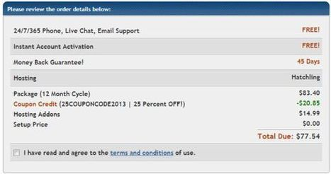 New coupon code for Hostgator | Technology | Scoop.it