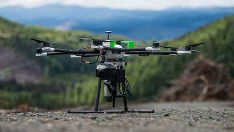 Tree-planting drones to speed up reforestation efforts | Robots and Robotics | Scoop.it