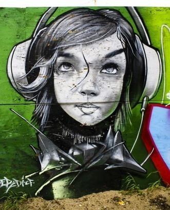 Musical graff | DESARTSONNANTS - CRÉATION SONORE ET ENVIRONNEMENT - ENVIRONMENTAL SOUND ART - PAYSAGES ET ECOLOGIE SONORE | Scoop.it