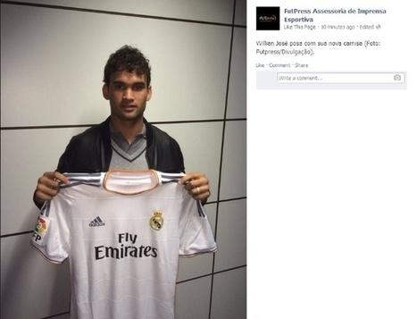 Sem Cristiano Ronaldo, técnico do Real relaciona Willian José pela 1ª vez | Mesa do Futepoca | Scoop.it