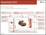 Office 2013 Quick Start Guides - support - Office.com | technologies | Scoop.it