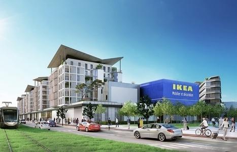 VIDEO. Nice: Le futur magasin Ikea de la plaine du Var se dévoile (un peu plus) | Nice Tourisme | Scoop.it