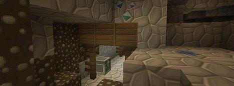 SilverMines – Texture pour Minecraft 1.8.1/1.8/1.7.10/1.7.2/1.6.4 | Minecraft | Scoop.it