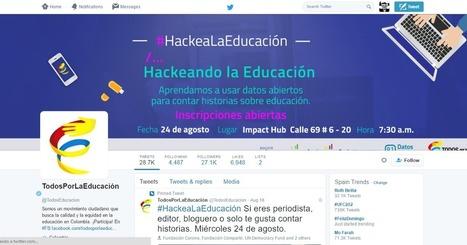 e-learning , conocimiento en red: #HackeaLaEducación @TodosEducacion agosto 24 @ 7:30 am - 11:30 am Colombia | Alianza pacifico | Scoop.it