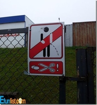 Funny road sign | Funny Blaster | Scoop.it