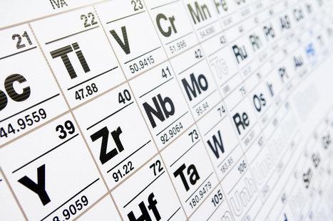 La 7ème ligne du tableau périodique est désormais complète   Culture scientifique et technique   Scoop.it