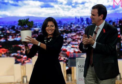 Réseau C40 : Hidalgo à Mexico pour mobiliser contre le réchauffement climatique   Planete DDurable   Scoop.it
