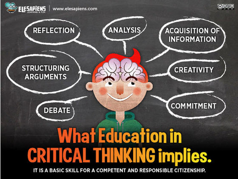 Critical Thinking: Educating Competent Citizens | Educational technology | Scoop.it