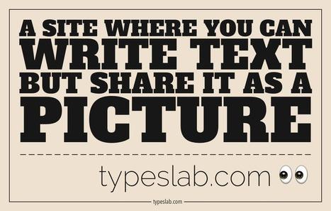 TypeSlab | Educacion, ecologia y TIC | Scoop.it