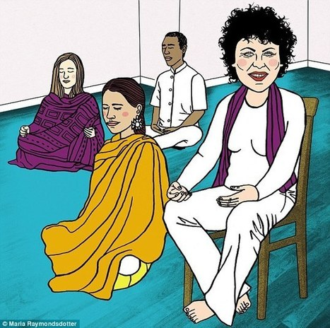 Ruby Wax puts mind over chatter in the pursuit of mindfulness | workplace mindfulness | Scoop.it