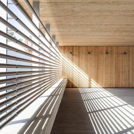 Yoonseux Architectes : Extension de l'école Primaire J. Jaurès II | Publications | Scoop.it