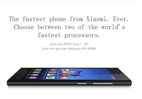Xiaomi Mi3 WCDMA da 64GB a meno di 340€ spedito con DHL ?? | iMela & Affini | Scoop.it