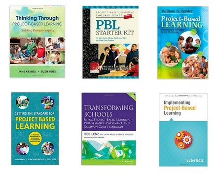Everything Teachers Need to Know about Project Based Learning- 6 Must Read Books ~ EdTech & MLearning | iEduc | Scoop.it