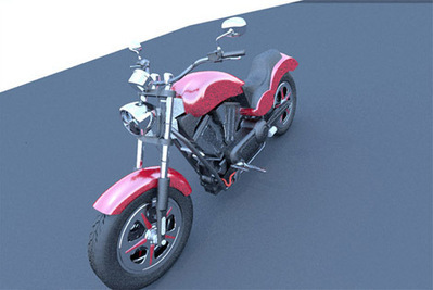 Moto Victory Judge 3D | 3D Library | Scoop.it