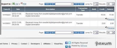 Register PAXUM   Digital Generation (coingeneration)   Scoop.it