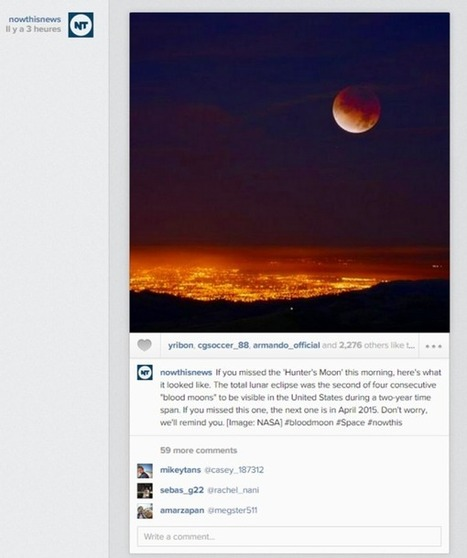 Social média : 7 tendances pour 2015 | #CMIHECS | Scoop.it