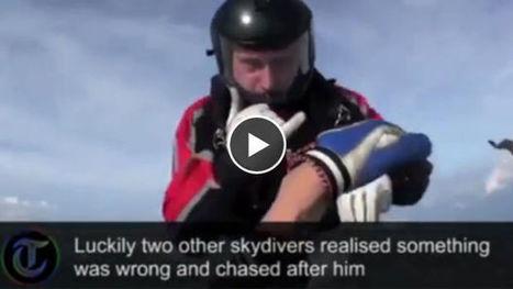En pleine chute libre, James Lee perd connaissance et se voit sauvé par ses coéquipiers | sautenparachute | Scoop.it
