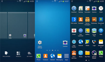 Galaxy Launcher Prime (TouchWiz) 1.0.2 apk   Android Themes   Scoop.it