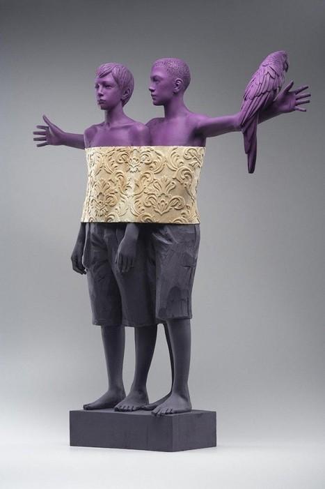 Wood Sculptures by Willy Verginer   Art   Scoop.it