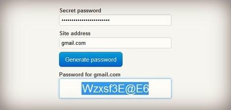 Create a Unique Password for Every Site You Use   Stratégie digitale et médias sociaux   Scoop.it