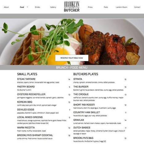 Mediaura Launches Website for Brooklyn and the Butcher | Mediaura | Scoop.it