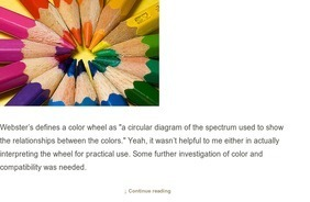 Color Wheel Romance  & Curbly   DIY Design Community & Keywords: paint, color, wheel, primary   up-to-date!   Scoop.it